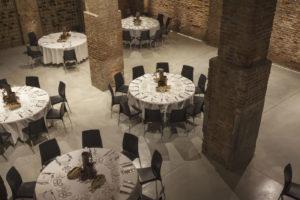 Cascina Ranverso sala ristorante